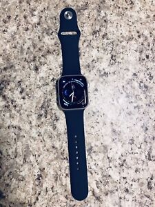 Brand NEW Dark Blue Silicon Band for Apple Watch 42mm or 44mm