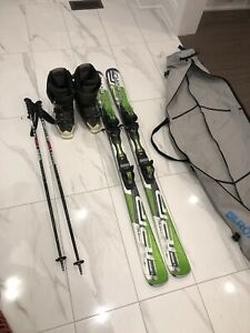 Elan ski set for sell