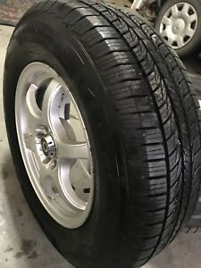 Set of new tires with wheels for Suv & cars