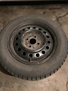 175/65/R14 Hankook Winter tires and rims
