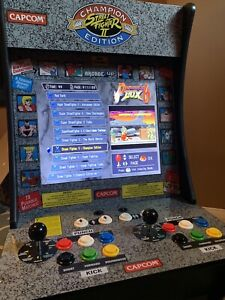 Street fighter 2 arcade 1up with 1300 GAMES!!!!