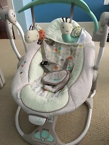 Ingenuity musical foldable baby swing