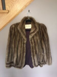 Mink fur coat, seams are letting go but fur can be reused.