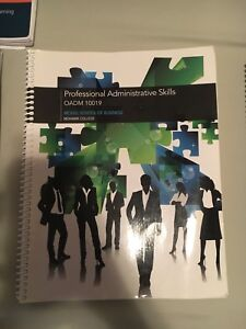 Office Administration textbook-OADM 10019
