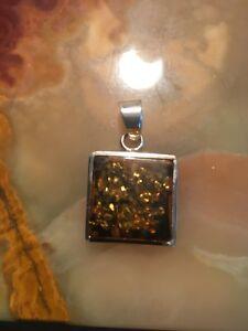 Genuine Baltic Amber Pendant