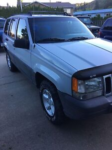 1996 Jeep Grand Cherokee & Parts Jeep
