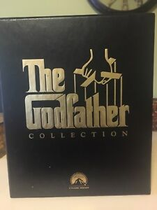 Collection of VHS Box Set Tapes , Rocky, The Godfather
