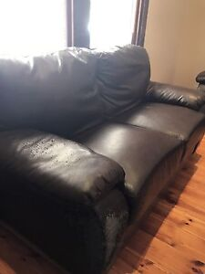Giveaway 1X 2 seater leather lounge Adelaide CBD Adelaide City Preview