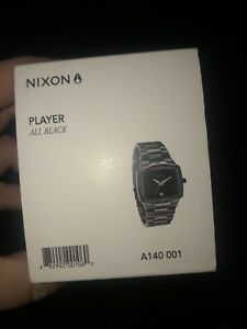 Nixon Player Watch- All Black- Brand New