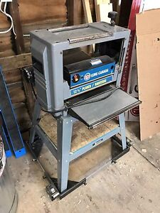 """King Canada 12.5"""" planer and dust collector"""