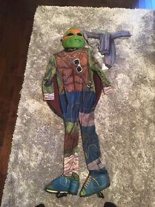 Costume halloween tortue ninja turtle 3-4 ans