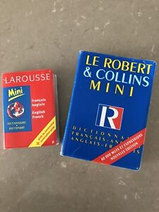 French/English English/French dictionary