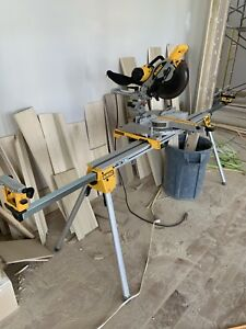 "DeWalt DW717 10"" Dual Bevel Sliding Mitre Saw"