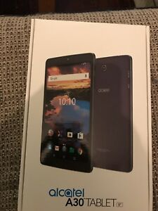 """Two  8"""" Alcatel A30 tablets"""