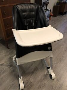 Mamas and Papas Leather High Chair