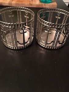 Anchor candle holders