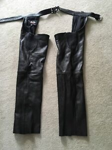 Motorcycle chaps size medium