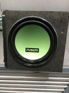 Fusion Subwoofer in box