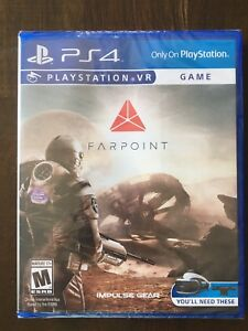 PS4 Farpoint VR game - new and sealed.