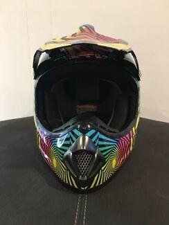 Motor Bike Helmet & Goggles