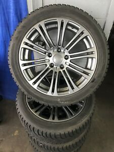 Bmw Mags and winter tires OEM 245/45/18 (18x8.5)