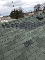 Shingle repairs and roof replacements