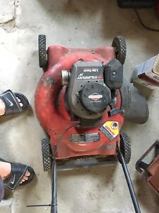 Old lawnmower not working