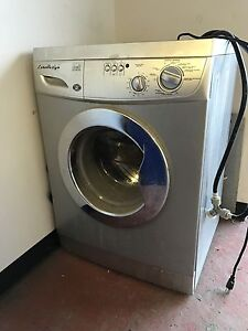 Washer dryer in one for apartments hooks up to sink