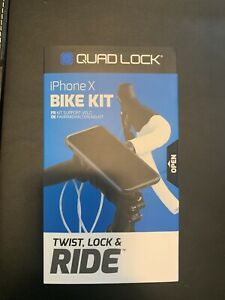 Quad Lock iPhone X Bike Mount Kit