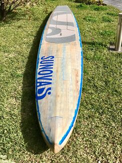 Unused 14 Foot Sunova 'Ocean Fast 2' Stand Up Paddleboard