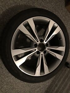 4 Mercedes Benz mags and tires 225/45/R18