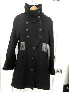 Mackage Black Coat Size XS