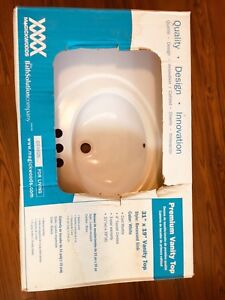 New sink in box