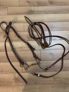 Snaffle Bit and Bridle
