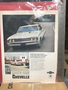 1967 Chevy Chevelle SS 396 vintage ad