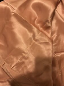 BLUSH SATIN RECTANGULAR TABLE CLOTHS