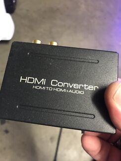 HDMI splitter and hdmi audio splitter