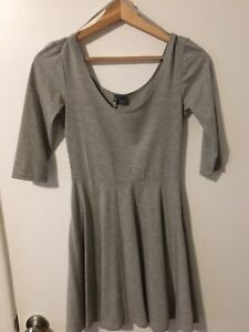Urban Outfitters Grey T-Shirt Dress - Size XS