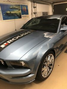Mustang gt supercharge impeccable 43600 km