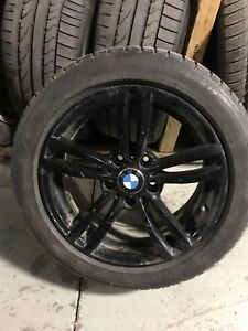 Mags 17 pouces BMW serie 3 2012 + 225/50/17 MICHELIN RFT