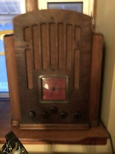 Restored. Westinghouse tombstone radio