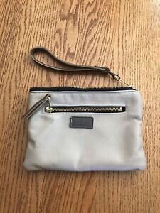 So Comfy Upcycled Leather Wristlet