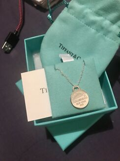 Brand new Tiffany and co necklace