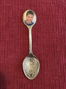 Prince William silver plated spoon