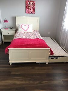 Beautiful girls bedroom set with trundle
