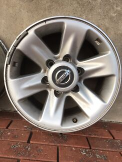 Gu patrol wheels/alloys