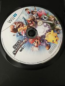Super Smash Bros Wii U(unblemished disc)