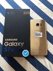 As new Samsung galaxy s7 edge 32GB