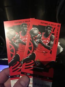 Raptors vs Bulls March 26 - Lower Bowl