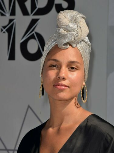 ALICIA KEYS 8X10 GLOSSY PHOTO PICTURE IMAGE #4